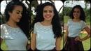 Blusa de Retalho de tecido Alana Santos Blogger