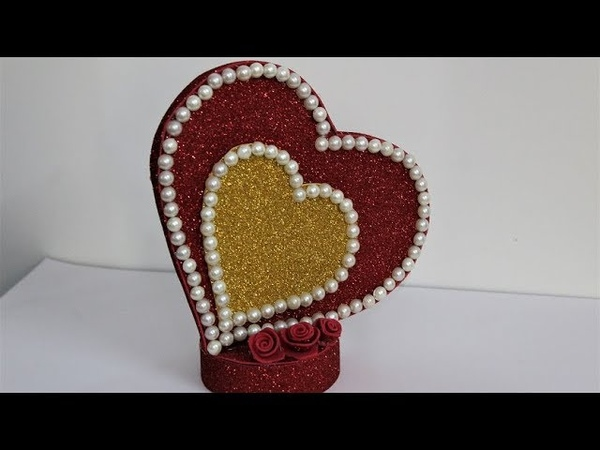 Heart Showpiece DIY-Gifts Ideas 2018Beautiful Heart showpiece