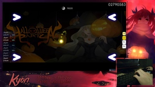 [osu!] SHK - Halloween Party [Insane] +HD,DT 98.34% FC 402pp