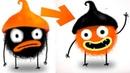 ПРИКЛЮЧЕНИЯ ЧУЧЕЛ мультик игра для маленьких детей 17 игровой мультфильм 2018 Chuchel Черный шарик!