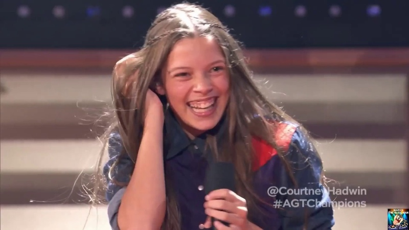 Top 10 Awesome ROCK Auditions Worldwide 34 - NEW COURTNEY HADWIN