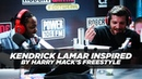 Kendrick Lamar Inspired By Harry Mack's Freestyle