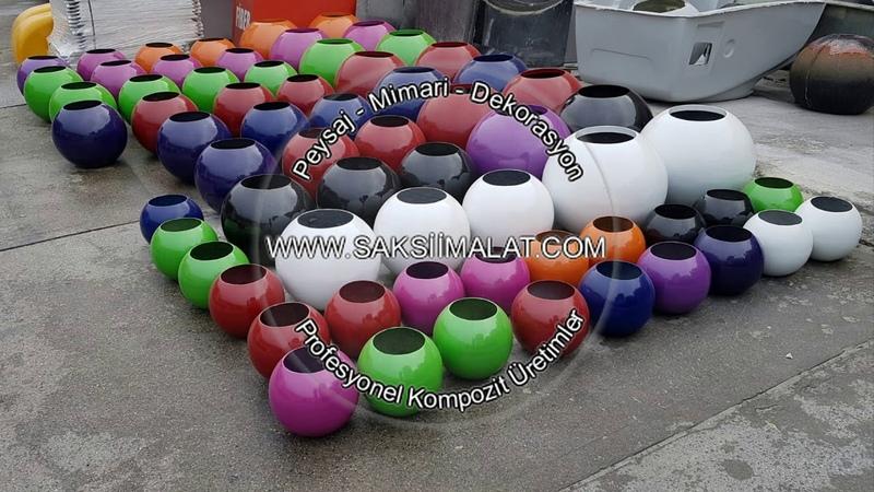 Türkiyenin En Renkli Saksı Fabrikası