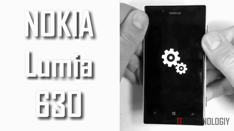 Lumia 630 Прошивка Windows Phone 10