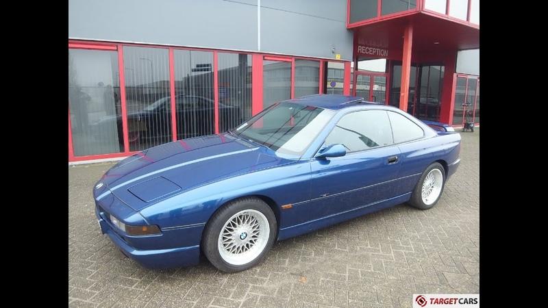 741018 BMW 840CI E31 COUPE AUT M INDIVIDUAL SELECTION JAPAN 4 4L 06 1997 BLUE 286HP 92462KM LHD