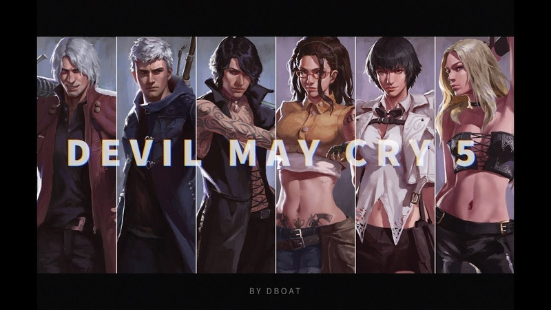 DMC5 COMBO MAD Trigger Out TRAİLER(Chinese Collab)