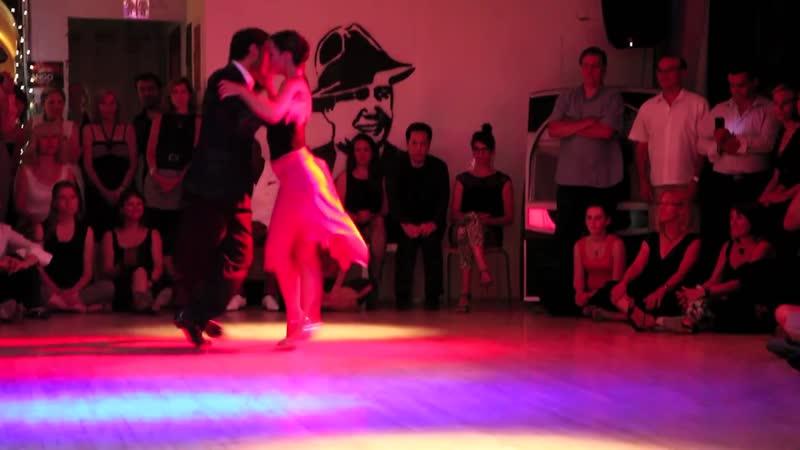 """Fausto Carpino et Stephanie Fesneau, _""""Volver a sonar_"""" (tango), (3de3)."""