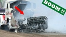 Epic Engine Explosions   Engine Blow Ups   Tank Vs Tractor 3