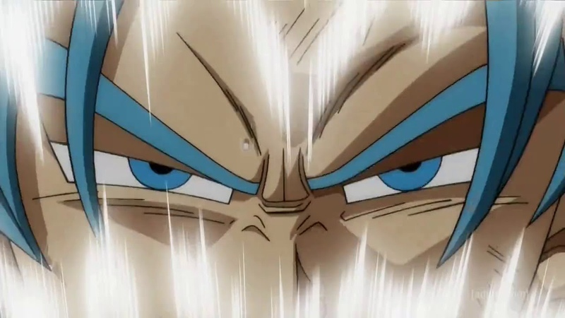 Super Saiyan Rage Trunks transformation . English Dubbed