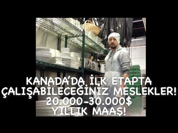Kanada'da İlk Etapta Çalisabileceginiz Meslekler! 20.000-30.000$ Yillik Maas!