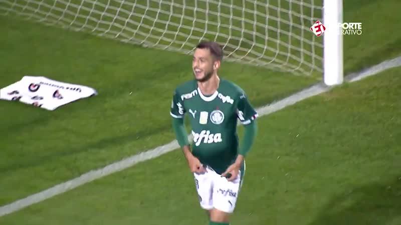 [4° GOL DO PALMEIRAS] Palmeiras 4 x 0 Santos | Brasileirão 2019 - Rodada 5