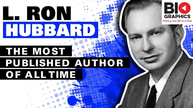 L. Ron Hubbard: The Most Published Author of All Time (And Some Other Stuff)
