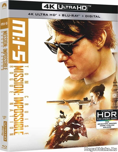 Миссия невыполнима: Племя изгоев / Mission: Impossible - Rogue Nation (2015) | UltraHD 4K 2160p