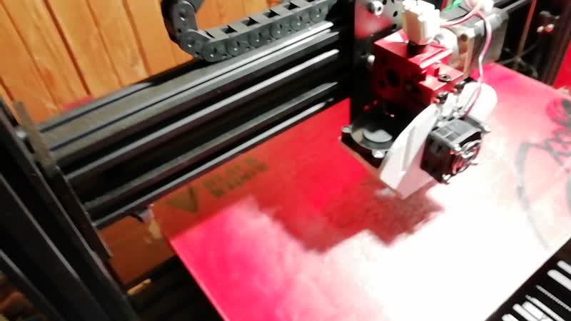 Печать на 3D принтере молекулы метана