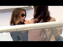 Kate Beckinsale Tends To Her Oral Fixation Before Taking Flight