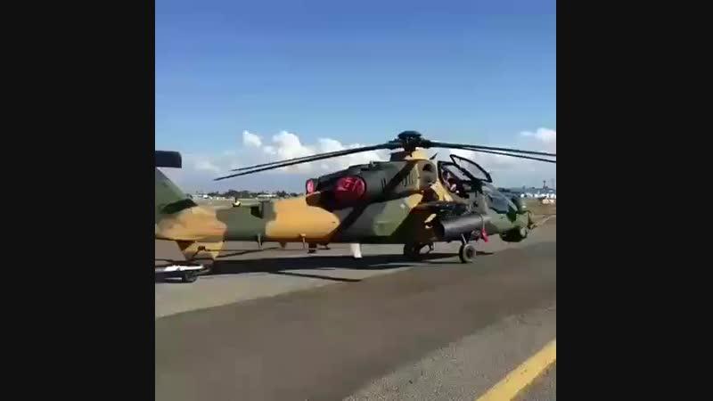 Турецкий ударный вертолет T 129 ATAK