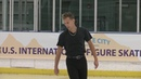 Michal BREZINA (CZE) _ Men SP _ 2018 US International Classic