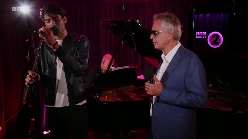 Andrea Matteo Bocelli - Perfect Symphony (Ed Sheeran Cover) Radio 2 Piano Room 2018 Live