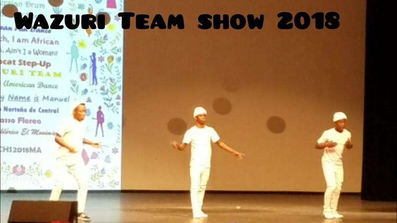 Afrodance 2018 Mercure Wazuri Team performance at Multicultural 2018 afrohouse dance 18 audition