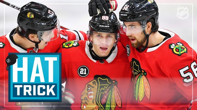 Patrick Kane earns fifth NHL hatty to power Hawks to victory