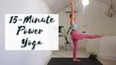 15-MINUTE POWER YOGA | Yoga For Bum Legs | CAT MEFFAN