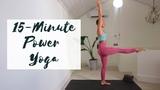 15-MINUTE POWER YOGA Yoga For Bum &amp Legs CAT MEFFAN