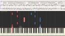 Остановись Марсель Ноты и Видеоурок для фортепиано piano cover