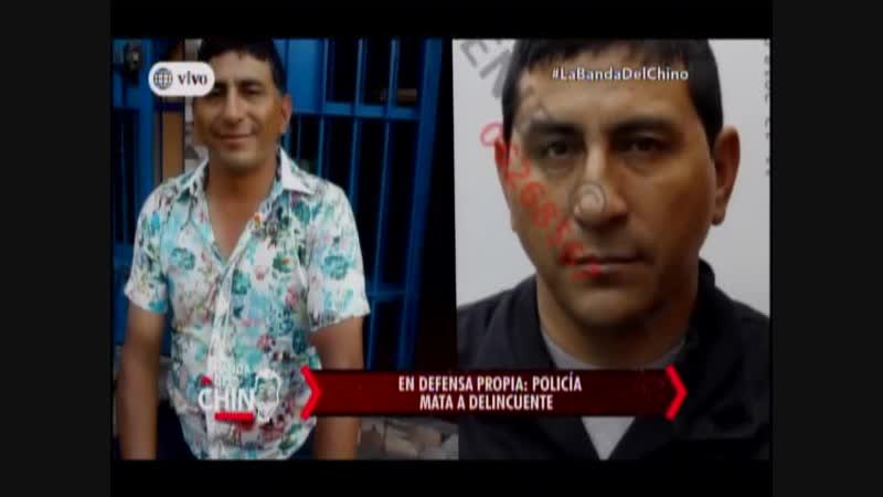 Nota - En Defensa propia - Policia mata a Delincuente