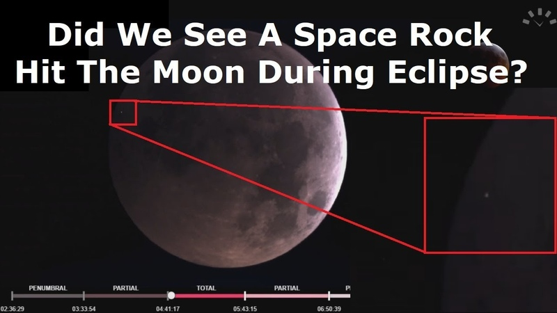 A Space Rock Hit The Moon During The Eclipse