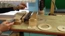 Приспособление для снятия фаски и шлифовки дисков из фанеры