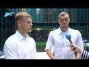 Фрагмент шоу «Раздевалка» на «Зенит-ТВ»: выпуск №106