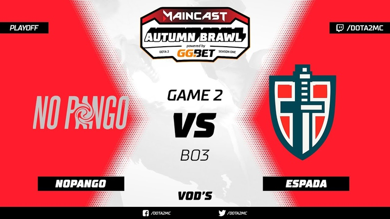 NoPangolier vs. Espada | @bo3 (game 2)