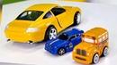 Speedy Bussy. Um carro novo - Porsche. Videos de brinquedos.