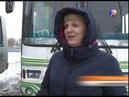 Выкса ТВ: женщина за рулем автобуса