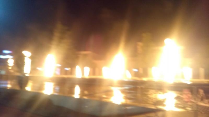 Поющие фонтаны Арфа Парк-Отель
