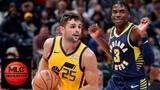 Utah Jazz vs Indiana Pacers Full Game Highlights 11.19.2018, NBA Season