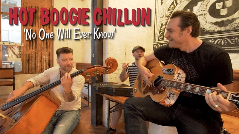 'No One Will Ever Know' HOT BOOGIE CHILLUN (Firebirds Festival) BOPFLIX SESSIONS