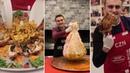 طبخ اللحم بغشاء المعدة من الشيف بوراك delicious food by chef burke