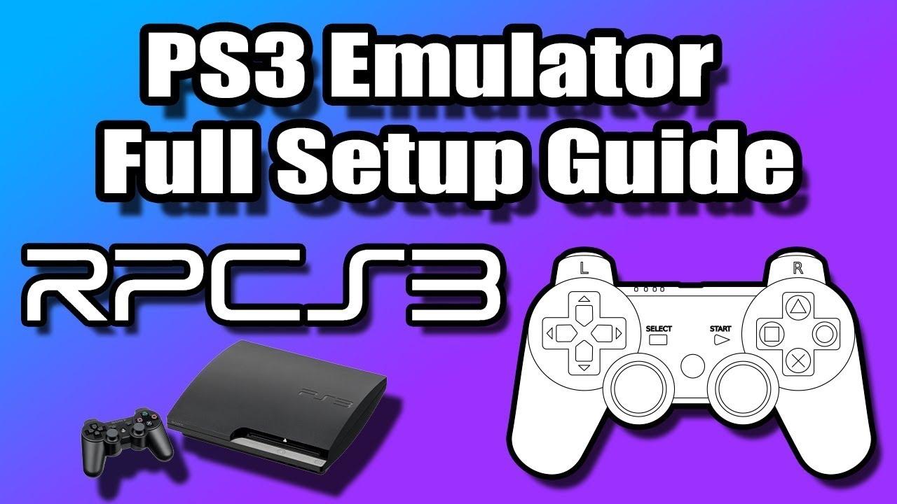 Как на ПК запустить игру с PS3? Инструкция!