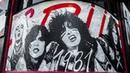 Artist Robert Vargas Paints Mötley Crüe Mural on The Whisky a Go Go