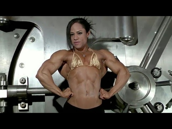 Muscle Woman 63 Kashma Maharaj Female bodybuilder! Strong woman! Fitness model! Sport girl! IFBB