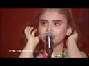 * Bize çocukluğu verin * şarkısıyla jüriyi ağlatan suriyeli kız