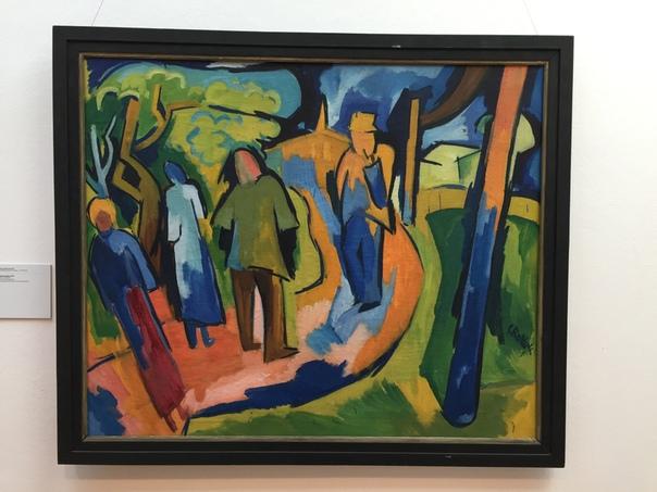 Картина в раме. Karl Schmidt-Rottluff (1 декабря 1884-1976), Карл Шмидт-Ротлуф