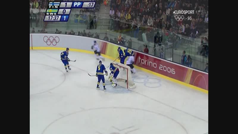 Final hockey hielo - Finlandia - Suecia Juegos Olímpicos de Invierno Turin 2006 -