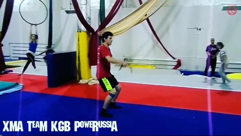 XMA TeaM KGB | PoweRussiA tricking bumpclub xmas redbullkickit redbulltricking extremetricking hypertricking martialarts