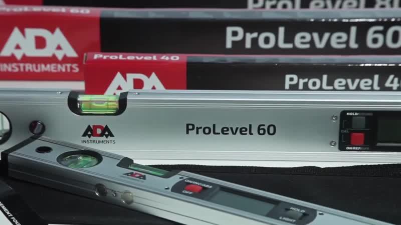 Электронные уровни ADA ProLevel 40 60 80 100