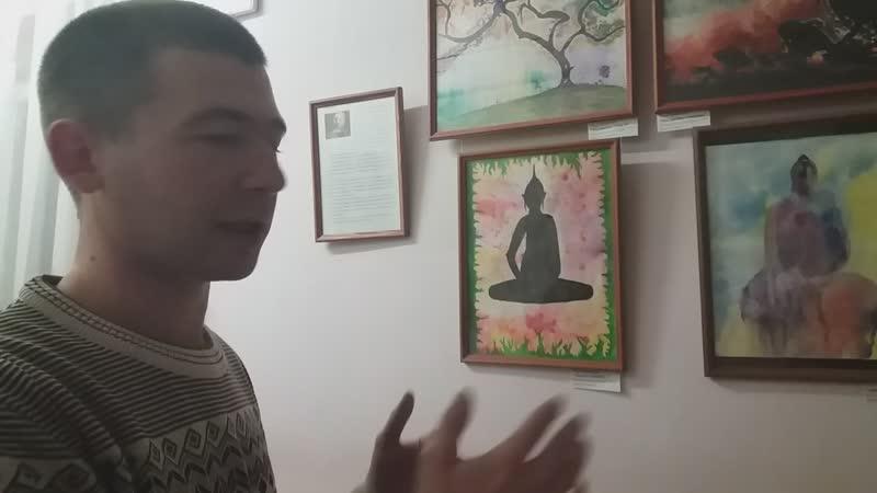 Пётр Литвинцев - Выставка в ДК Алмаз (Ночь Культуры, 10.11.18)