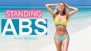 10-минутная жиросжигающая тренировка пресса стоя. Standing Abs Workout - 10 MINUTE FAT BURN Rebecca Louise
