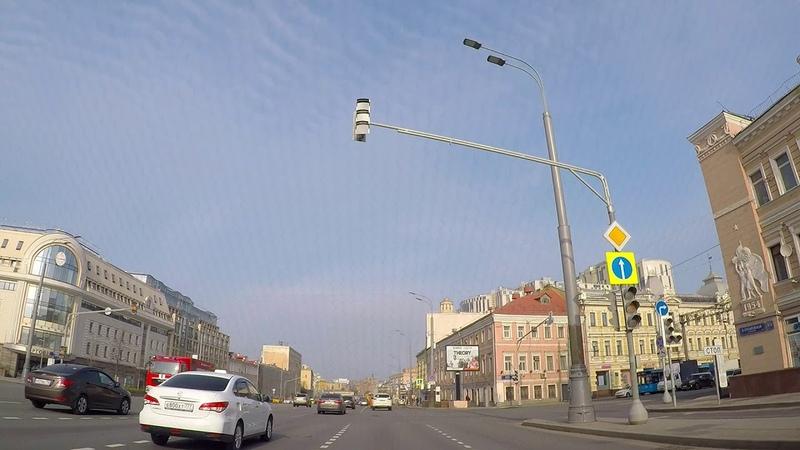 Утро в Москве. Московские зарисовки столицы - поездка на автомобиле по городу с комментариями.
