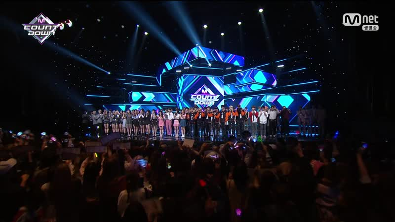 180510 Mnet 엠카운트다운 더보이즈 엔딩cut -세터